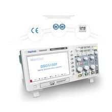 Hantek DSO5102P Цифровой Осциллограф 100 МГц 2 Канала 1GSa/с частота дискретизации в Реальном Времени USB host и подключение устройств 7 Дюймов