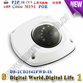 DS-2CD2542FWD-IS Audio 4MP WDR Mini dome ip Camera poe ONVIF better ds-2cd2532f-is ds-2cd2532-i ds-2cd2532f 2cd2532f sd card slo