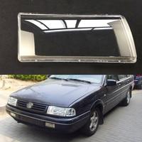 For Volkswagen VW Santana 2000 Transparent Car Headlight Headlamp Clear Lens Auto Shell Cover