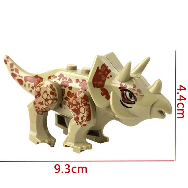 QIAOLETONG Динозавров Модель Цифры игрушки фильм один продаж DIY строительные блоки, совместимые с Legoings для мальчиков и девочек Подарки для детей