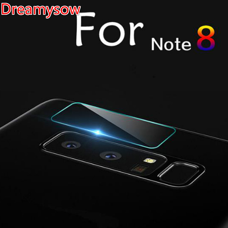 2.5D Back Camera Lens Screen Tempered Glass Film For Samsung Galaxy Note8 Note5 Note4 Note3 S9 S8 Plus C5 C7 C9 Pro A5 J7 2015