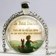 The Little Prince Logo Copper Chain Women Choker Statement Copper Pendant Necklace For Men Dress Accessories HZ1