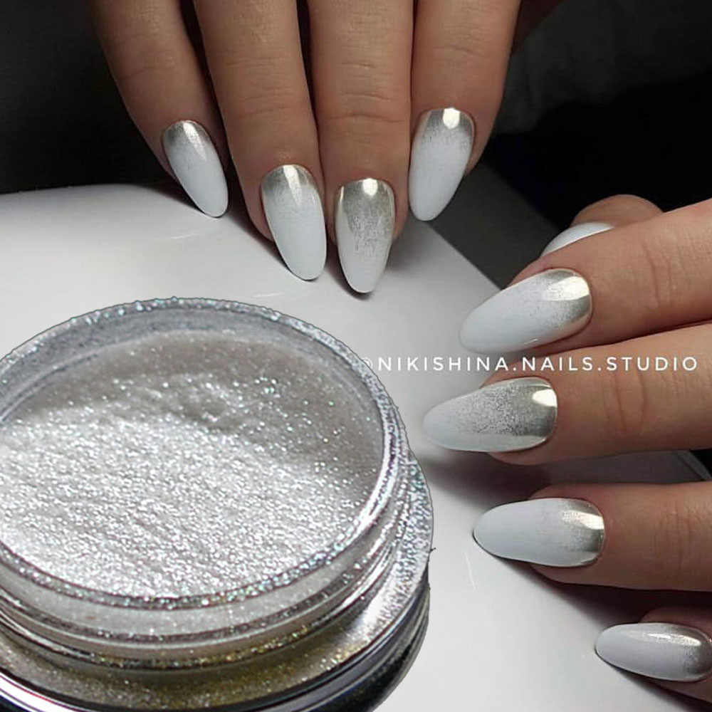 Detail Feedback Questions about 1pcs Silver Mirror Magic Pigment ...