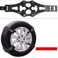 2016 New 8pcs/set Car Tire Snow Chains Beef Tendon VAN Wheel Tyre Anti-skid TPU Chainsfor For Tire 165mm-265mm
