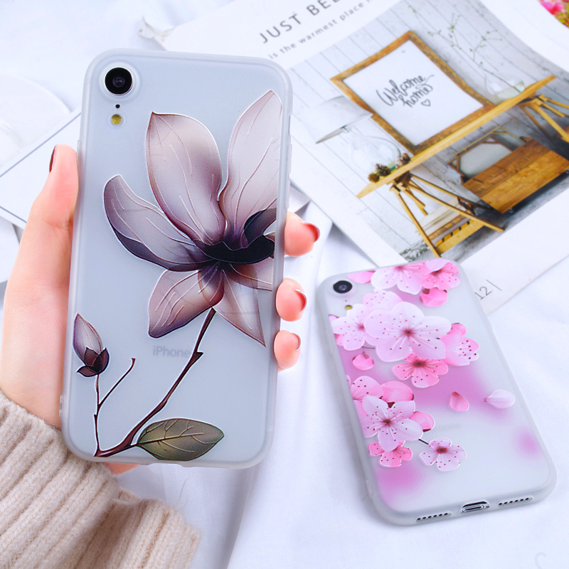 For iphone accessories Phone Case For iPhone SE 5S XR 8 Plus 6 7 Case Silicone Matte Ultra Thin For iPhone 8Plus 6S 7 Plus X XS