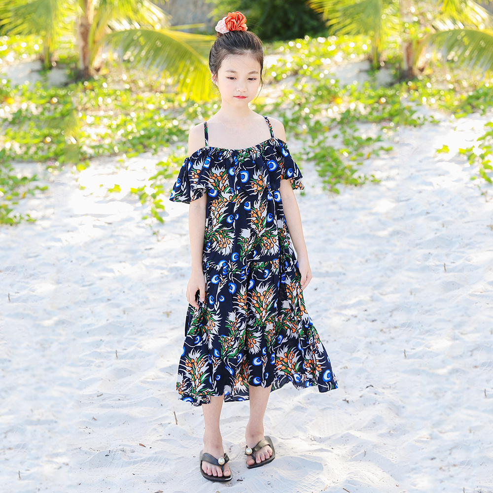 Girls Beach Chiffon Dress Summer 2018 Big Girl Dresses Teenagers Clothes  Kids Clothing For 4 5 6 7 8 9 10 11 12 13 14 15 Years - aliexpress.com -  imall.com f9628f438544