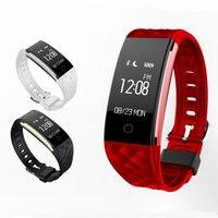 Оригинальный S2 Смарт часы Bluetooth 4.0 сердечного ритма Мониторы шагомер укрепления здоровья Фитнес трекер Браслет для iOS и Android