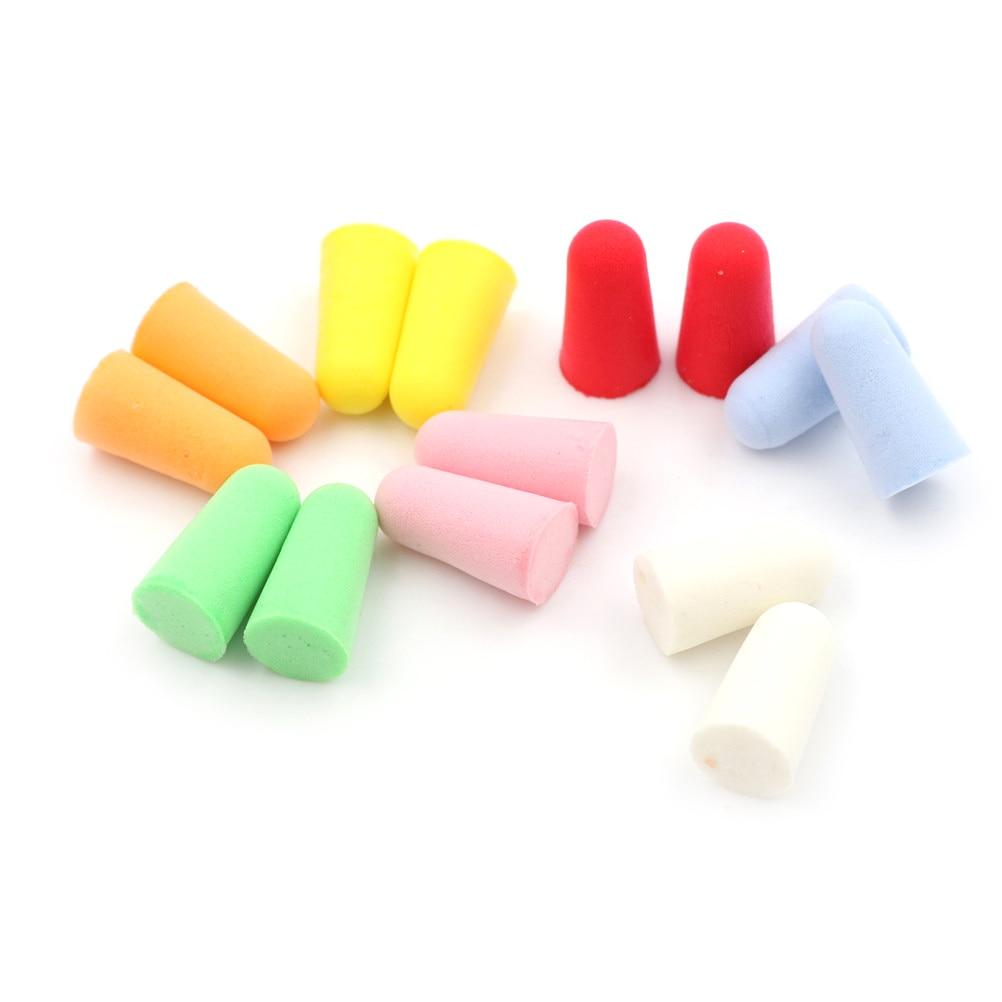 25*14mm A Lot Foam Anti Noise Ear Plugs Ear Protectors Sleep Soundproof Earplugs Workplace Safety Supplies  10 pair