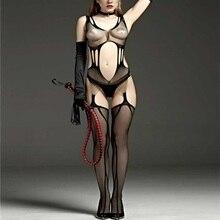 Sexy black fishnet desgaste pornô aapparel sacanagem sexo feminino roupa erótica sexy lingerie bodystockings corpo stocking mulheres erótica