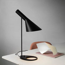 Modern New Black Led Table Lamps Bedroom Bedside Decorate Lighting Nordic AJ Desk Lamp Cafe Aisle Hall Study Read Lights(China)