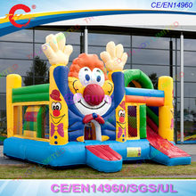 5x5m clown bounce house commercial Bouncy Castle Inflatable jumping Castle Jumper Trampoline Inflatable Bouncer ,free air ship(China)