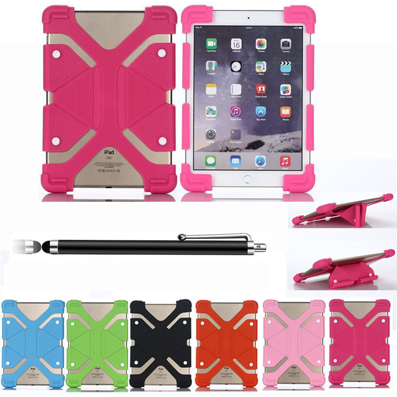 XSKEMP For 8 9 12 Tablet Case Universal Adjustable PC Shockproof Protective Cover Stand Flexible