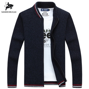 SAMHI BUGLE Cardigan Cotton Men Brand Cl