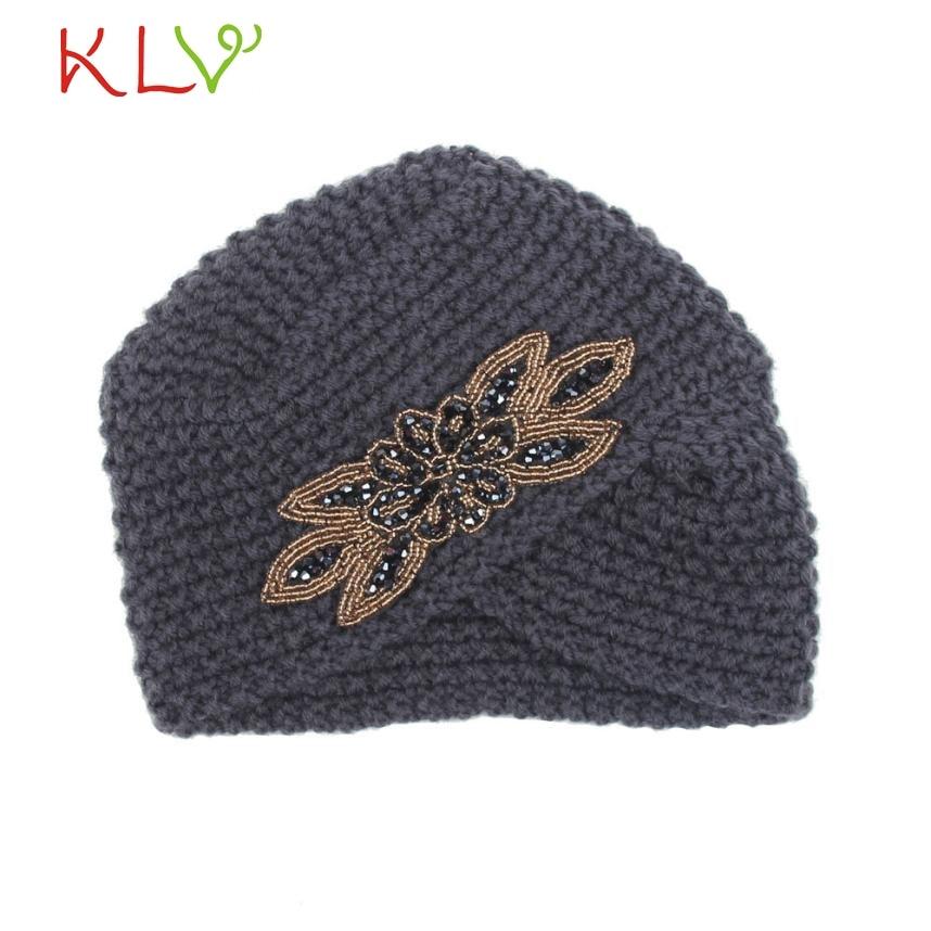 Fashion Womens Winter Warm Knit Crochet Ski Hat Braided Turban Headdress Cap 221 hot winter beanie knit crochet ski hat plicate baggy oversized slouch unisex cap