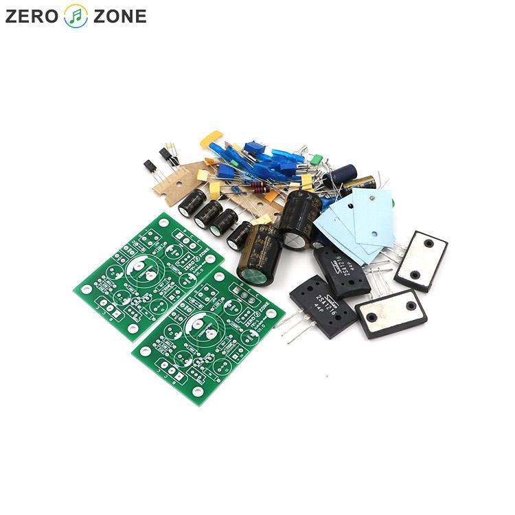 GZLOZONE PNP Sanken A1216 JLH1969 Single-ended Class A Power Amplifier Kit 10W+10W gzlozone assembled x29f single ended dc class a preamplifier board alps potentiometer