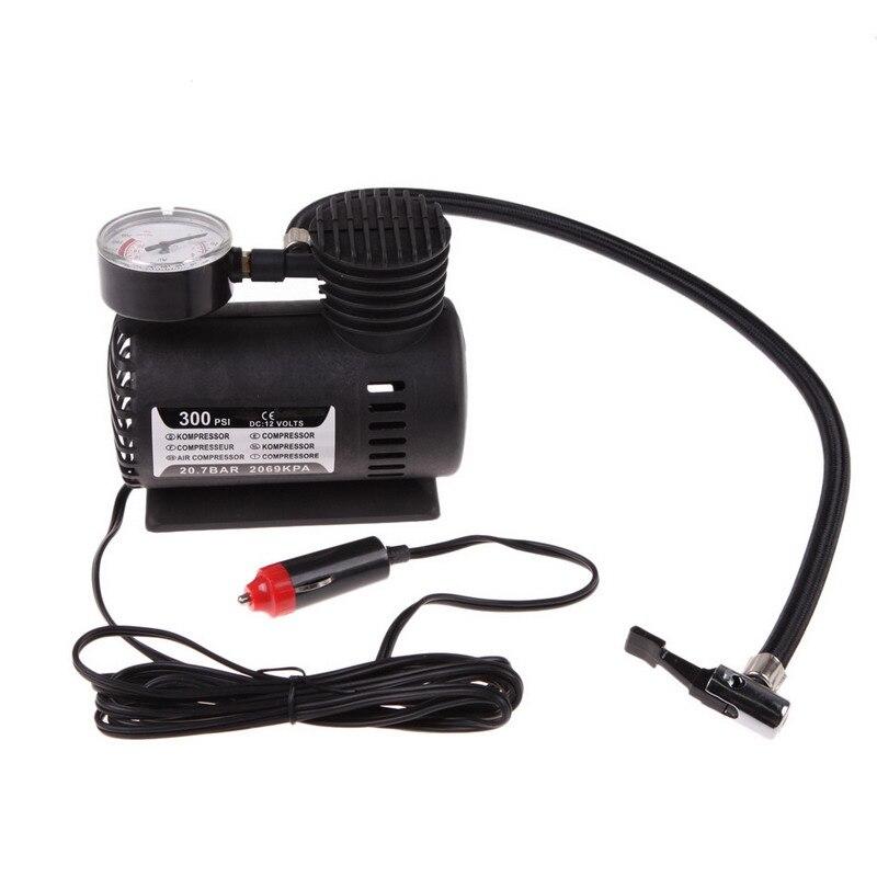 Universal Portable Versatile 12V Auto Car Electric Air Compressor Bicycle Motor Wheel Tire Tyre Infaltor Pump 300 PSI XR