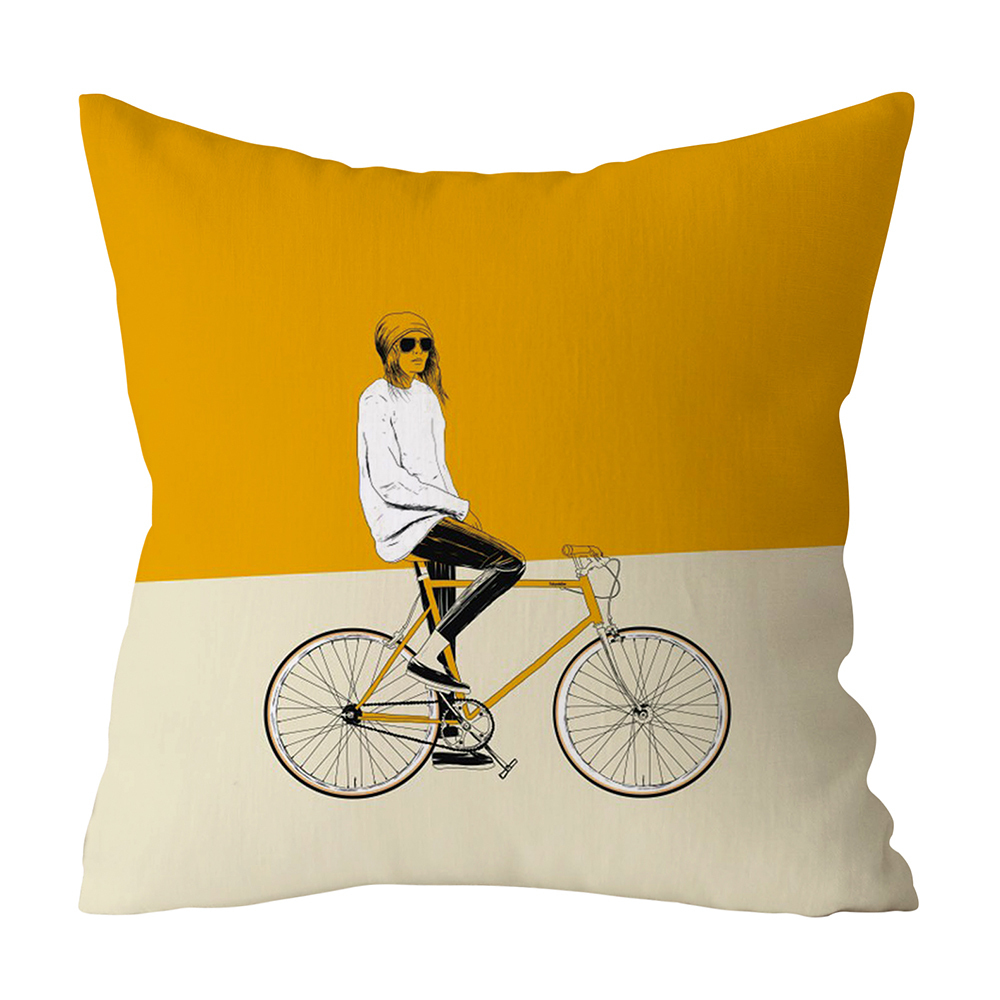 HTB1tfYwXBWD3KVjSZFsq6AqkpXaD Polyester Geometric Cushion Yellow Pineapple Pillow Decorative Cushion for Sofa DIY Printed Pillow Seat Chair Cushion