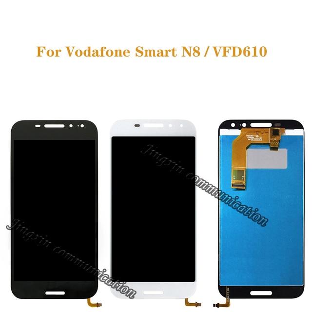 עבור וודאפון VFD610 חכם N8 LCD תצוגה + מסך מגע digitizer החלפת רכיב VFD 610 מסך רכיב 100% נבדק