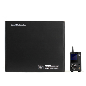 Image 4 - SMSL AD18 80 واط * 2 CSR A64215 DSP HIFI بلوتوث مضخم الصوت الرقمي النقي البصرية/محوري USB DAC فك مع جهاز التحكم عن بعد