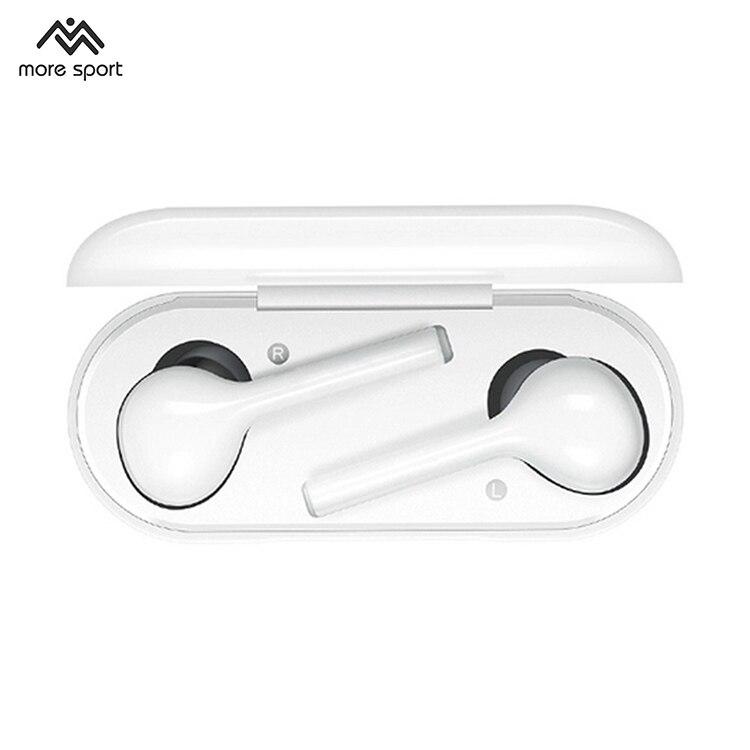 MORESPORT TWS véritables écouteurs sans fil contrôle tactile Bluetooth 5.0 casque avec micro