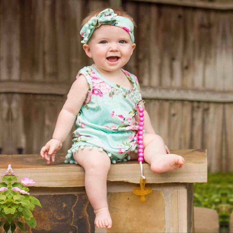 ad74ad7e3 Summer Baby Girl Dress Cotton Baby Rompers Newborn Baby Clothes Flower Baby  Girl Clothes Roupas Bebe Infant Jumpsuits   AMAZINGSTORE4U