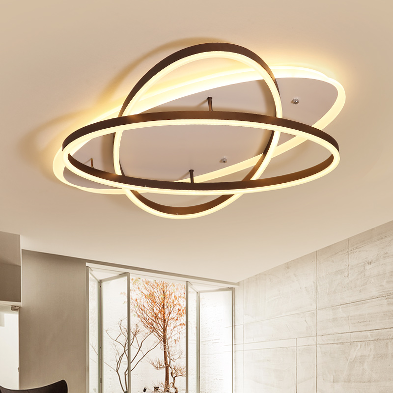 Lican Ceiling Light Led Lamp Modern For Living Room Bedroom Re De Plafond Moderne Dimming Acrylic