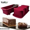 WALFOS de calidad alimentaria, antiadherente Pan de la torta del molde para hornear grande tostada pan francés-Barra de jabón Pan molde- para hornear de silicona torta de pan
