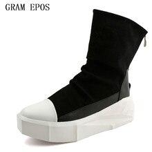 GRAM EPOS MEN shoes comfortable velvet MALE casual shoes men