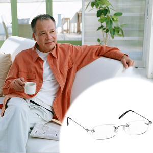 Free delivery Women Men Metal Rimless Reading Glasses Eyeglasses Readers +1 +2 +3 +4
