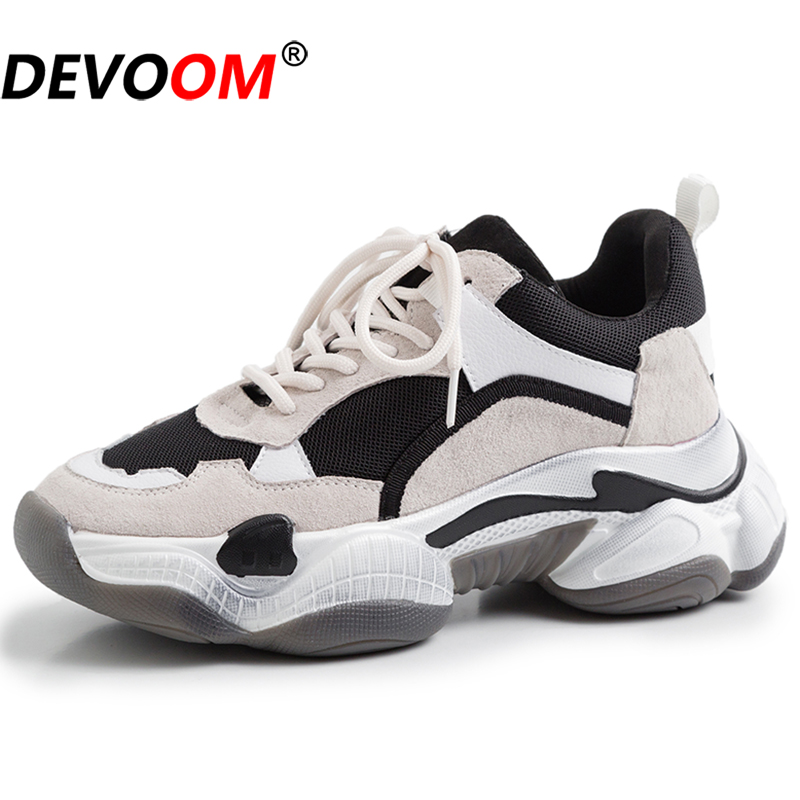 Sport Shoes Woman Basket Femme 2019 Sneakers Women Shoes Comfortable Running Shoes for Women zapatillas deporte <font><b>mujer</b></font> triple s image
