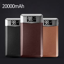 Power Bank 20000mAh Portable External Battery Charger Dual USB PowerBank for iphone for Samsung Xiaomi Poverbank