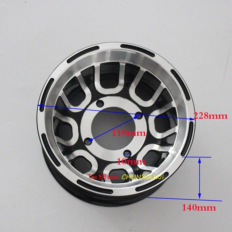 Taille 8 pouces Roulement de moyeu de roue En Aluminium pour VTT jantes use19X7.00-8 pneus 20x7-8 21x7-8 pneus sous vide pour Go-kart quatre roues moto