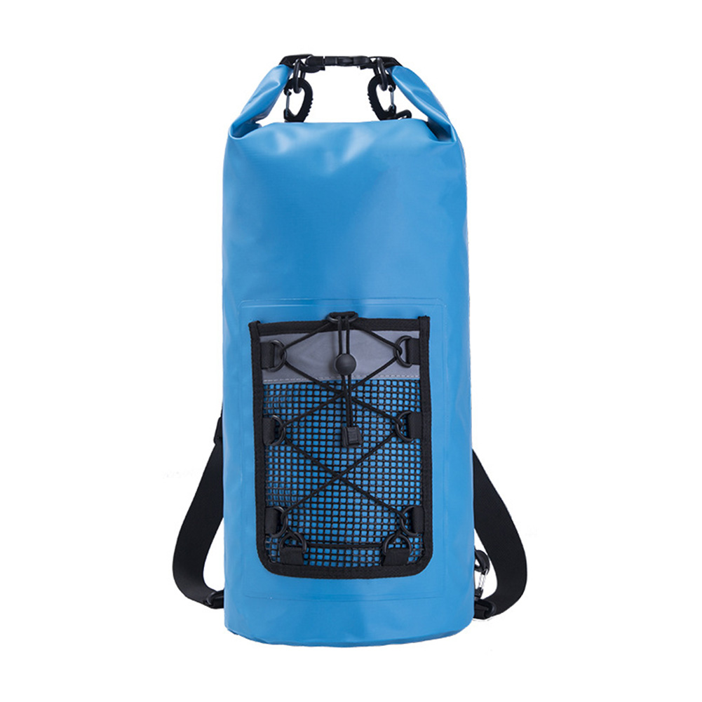 Backpack Pvc Outdoor Waterproof Durable Travel Ultralight Cycling Storage Swimming Rafting Large Capacity Reflective Carefully Selected Materials