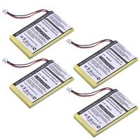 Durapro 4pcs 1300 mAh 3.7 V GPS / SAT Rechargeable Battery for Garmin Nuvi 200  200 W  205  205 W  205WT  250 252 W  265 W