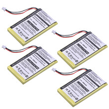 Durapro 4 sztuk 1300 mAh 3.7 V GPS/SAT akumulator dla Garmin Nuvi 200, 200 W, 205, 205 W, 205WT, 250 252 W, 265 W