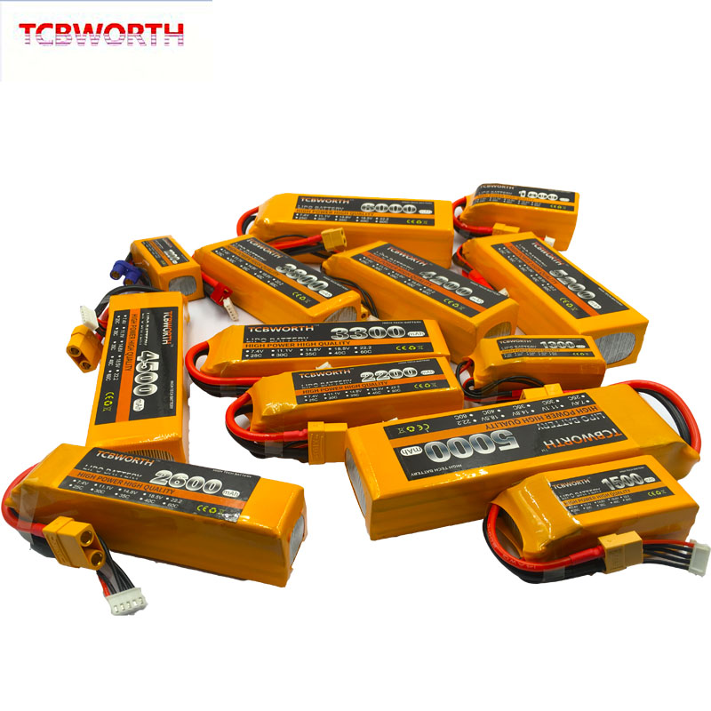Image 4 - New Nano 4S RC LiPo Battery 14.8V 1100 1300 1500 1800 2200 2800 3300mAh 25C 35C 60C For RC Aircraft Quadrotor Car Drone Airplane-in Parts & Accessories from Toys & Hobbies