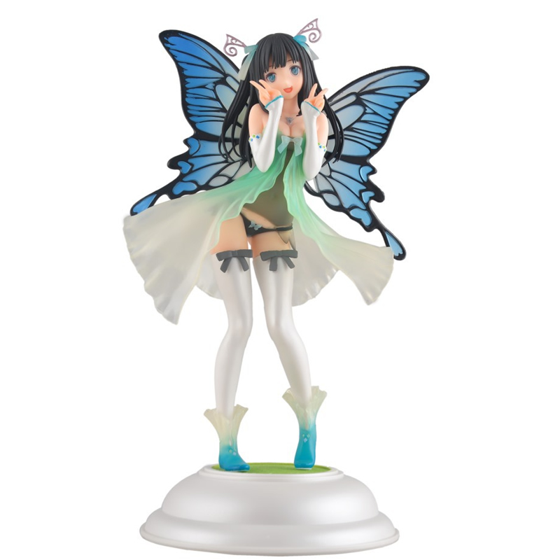 NEW in box 25cm Kotobukiya Tony Fairy garden Annabel Butterfly fairy maiden Sexry Action Figure christmas toys or Collection toy hot sale kotobukiya tony s heroine collection annabel fairy garden ani statue super sexy 27cm action figure