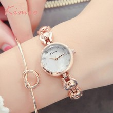hot deal buy kimio unique pea-shaped womens watches with rhinestones watches women fashion watch 2018 chinese wrist watch for women clock