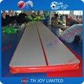 12*2.6*0.2 m gimnasia pista de aire, pista de aire inflable, inflable tumble track, pista de aire inflable fábrica