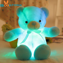 Kawaii Plush Teddy Bear with LED light