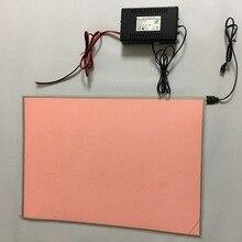 A3 размер 297*420 мм световой фильм photot лист панели супер тонкие как бумага, el лампы с диммер DC12V инвертор fade out