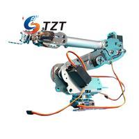 6DOF Mechanical Arm Robot Claw with Servo for Robotics Arduino DIY Kit Unassembled