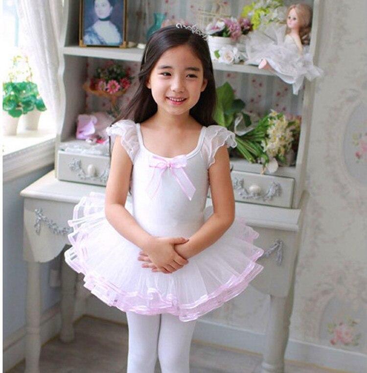 2017 Cheap Girls Ballet Dress For Children Pink Dance Clothing Kids Ballet Costumes For Girls Dance Leotard Ballerina Dancewear