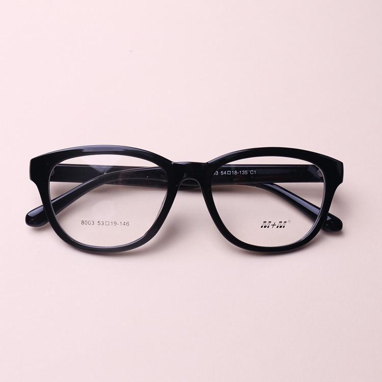 9c4ad10ad6 Chashma Fashion TR 90 Large Frame Black Color Eyeglasses Myopia ...