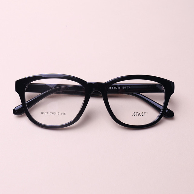 d0626bc3f5 Chashma Moda TR 90 Marco Grande Estudiante de Color Negro Gafas de Montura  de gafas de