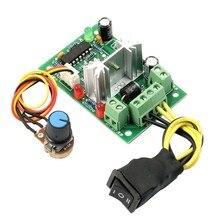 6-30V контроллер скорости двигателя постоянного тока Реверсивный ШИМ управление вперед/Обратный Переключатель
