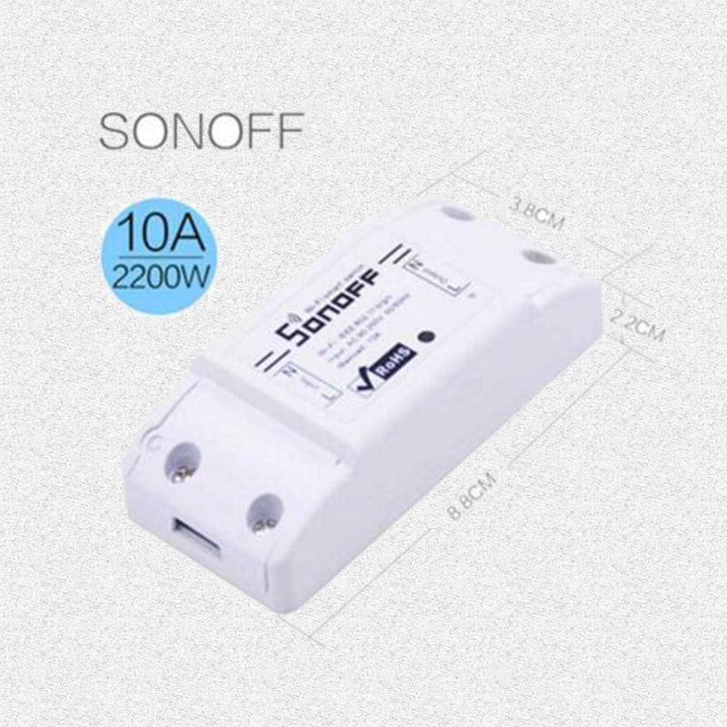 Sonoff RF-WiFi 433Mhz Wireless Remote Smart Switch Common Modification Parts Wit