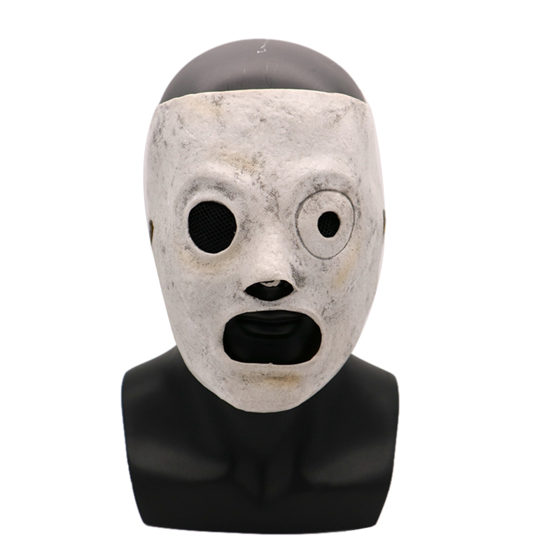 Funny Movie Slipknot Cosplay Mask Event Corey Taylor Cosplay Latex Mask Halloween Slipknot Mask Party Bar Costume Props AdultBoys Costume Accessories   -