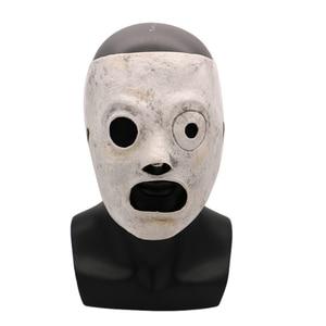 Image 1 - מצחיק סרט Slipknot מסכת קוספליי אירוע קורי טיילור קוספליי לטקס מסכת ליל כל הקדושים Slipknot מסכת מסיבת בר אבזרי תחפושת למבוגרים