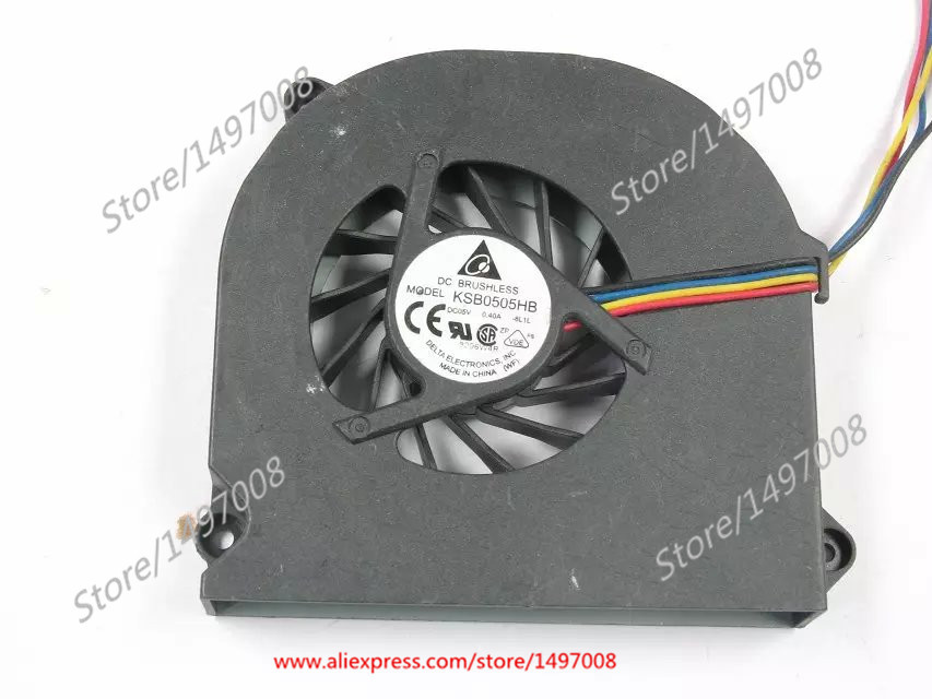 купить  Free Shipping For DELTA  KSB0505HB, -8L1L  DC 5V 0.40A 4-wire 4-pin connector 50mm Server Blower Cooling fan  онлайн
